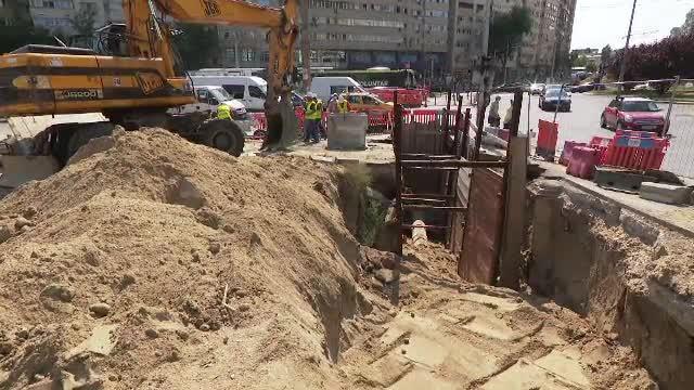 După luni de zile de așteptare, au început lucrările la pasajul Doamna Ghica din București