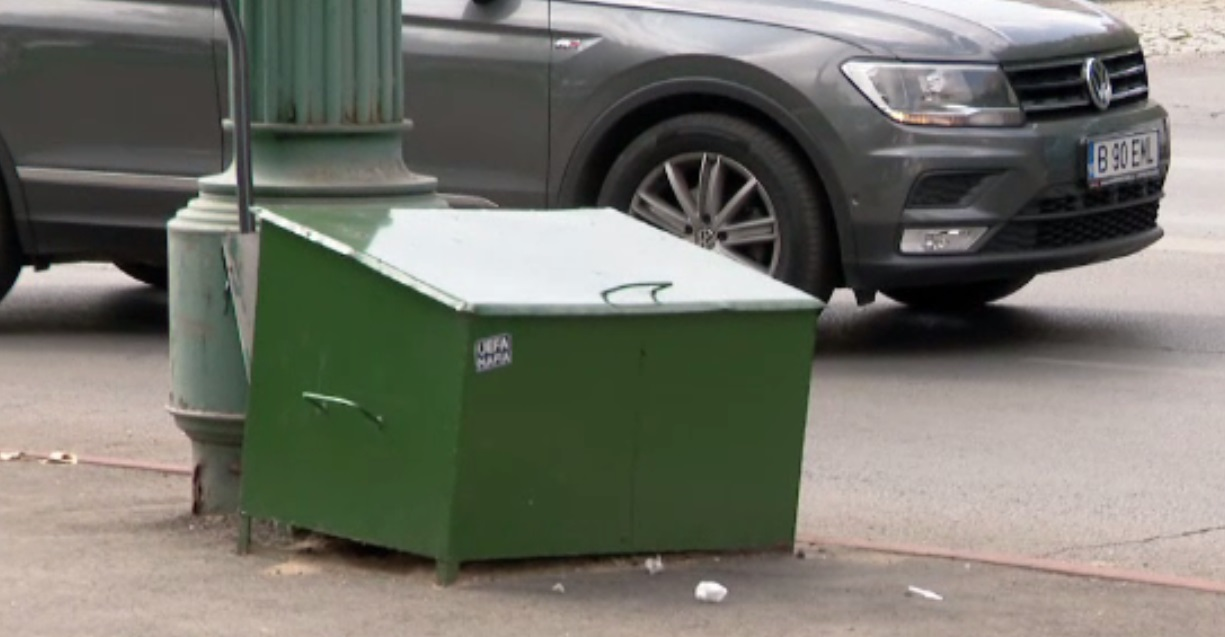 Un bărbat a fost găsit mort într-o cutie metalică destinată materialului antiderapant