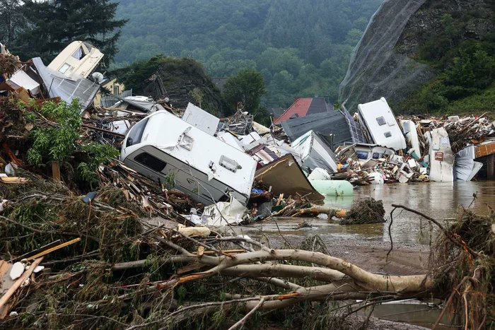 Belgia a fost lovită de furtuni violente, provocând pagube în mai multe provincii