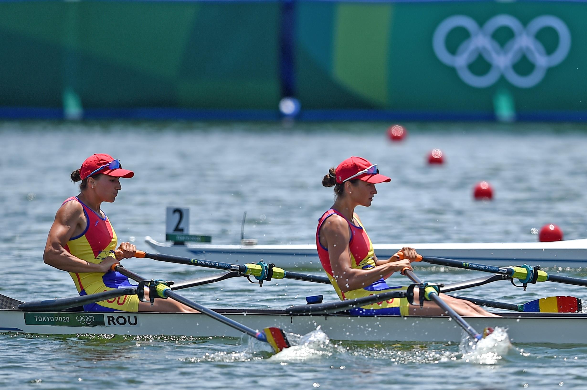 Jocurile Olimpice, Canotaj: România, calificată în finalele A la dublu vâsle feminin şi patru rame masculin