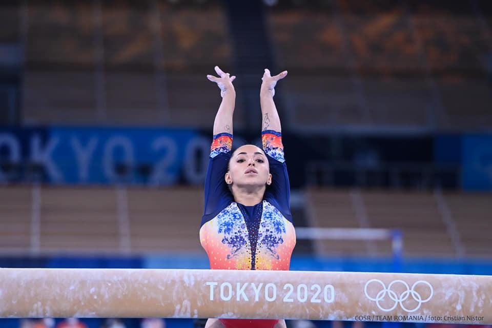 Jocurile Olimpice de la Tokyo. Larisa Iordache s-a calificat în finală la bârnă