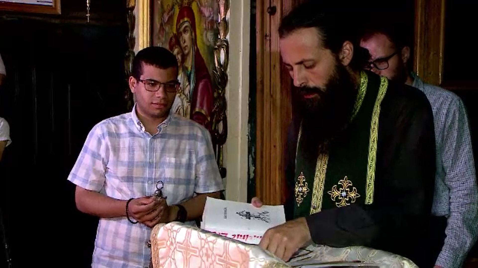 Povestea brazilianului Pedro care lucrează ca paraclisier într-o biserică din Iași