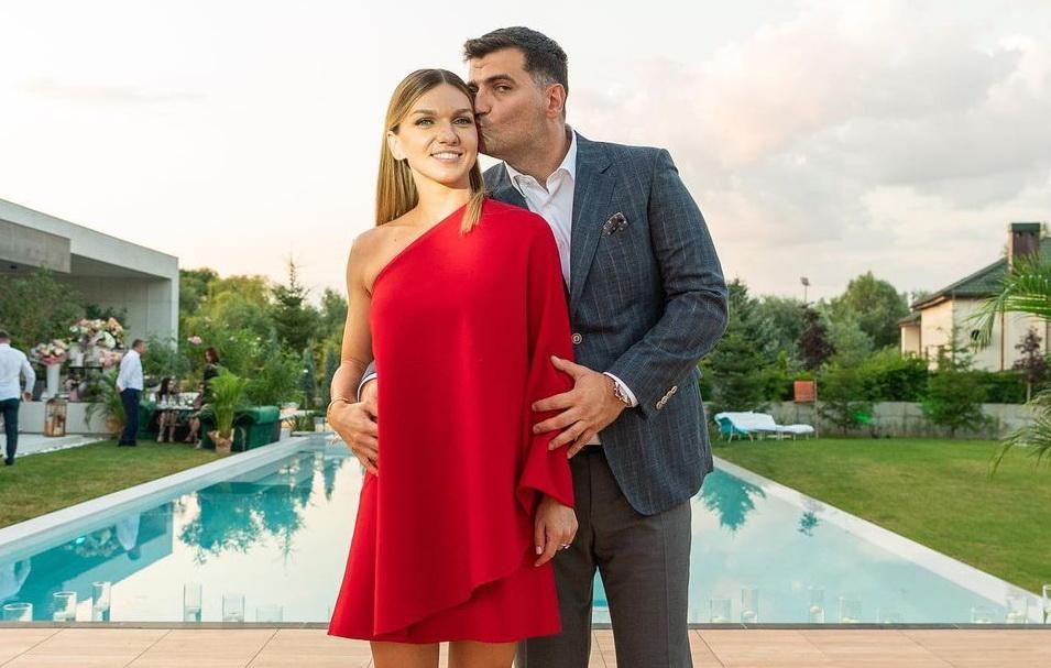 Simona Halep, prima imagine cu Toni Iuruc după ce s-au căsătorit în secret