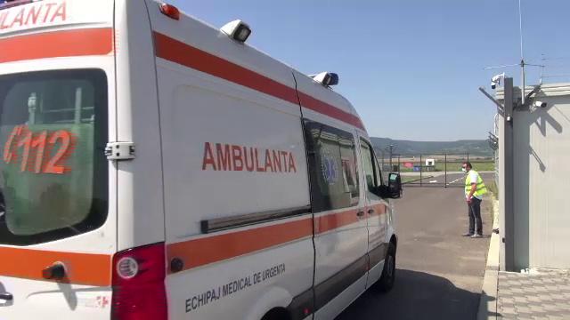 Unul dintre cei 5 supraviețuitori ai accidentului din Bacău, transferat cu un elicopter SMURD la București