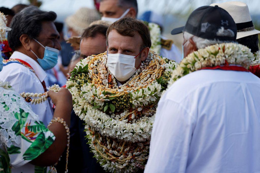 Președintele francez Emmanuel Macron, în vizită în Polinezia Franceză