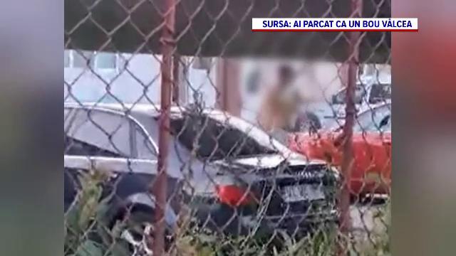 VIDEO. Un bărbat a distrus mașina tatălui cu un topor pentru că nu a pornit