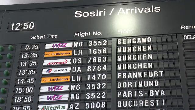 Sute de români au rămas blocați pe un aeroport din Italia. Ce s-a întâmplat