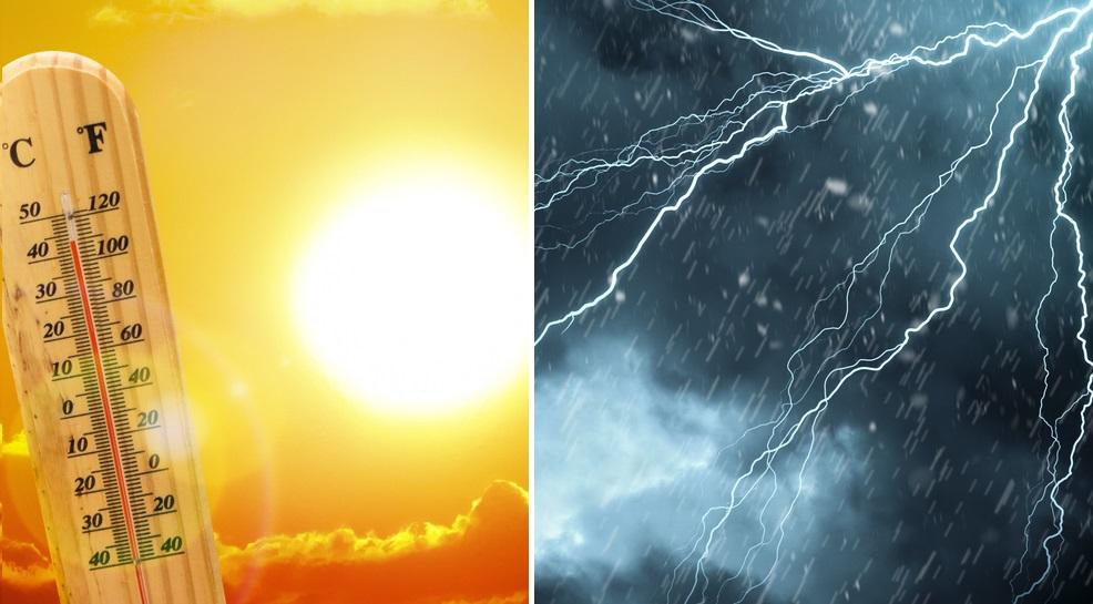 Cod galben de caniculă, în Bucureşti şi în 18 judeţe, dar şi cod galben de furtuni în 13 judeţe