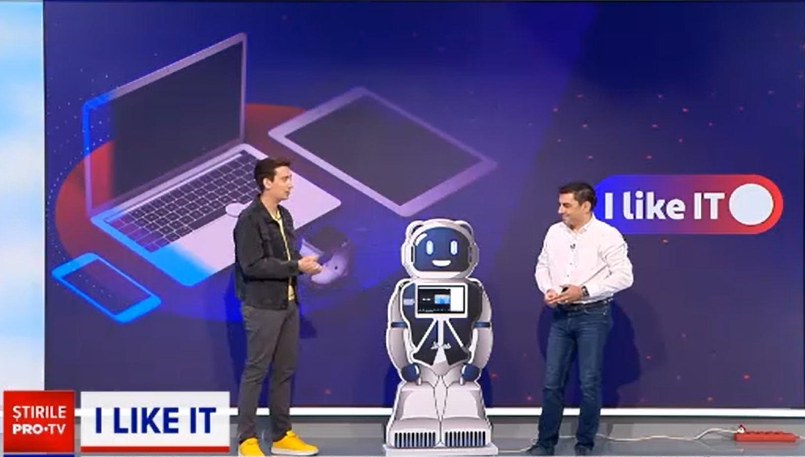 iLIkeIT. Cum îi poate ajuta robotul Mirai pe elevii care învață online
