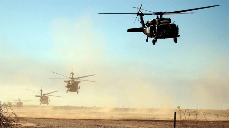 Un elicopter s-a prăbuşit în timpul unei 'misiuni de luptă' în Irak. Cinci oameni au murit