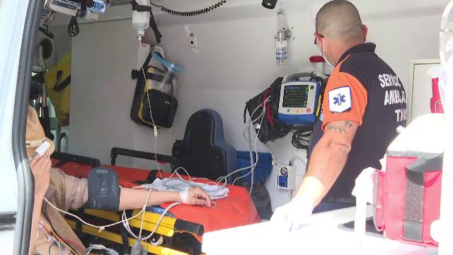 Sute de români au avut nevoie de îngrijiri medicale din cauza caniculei