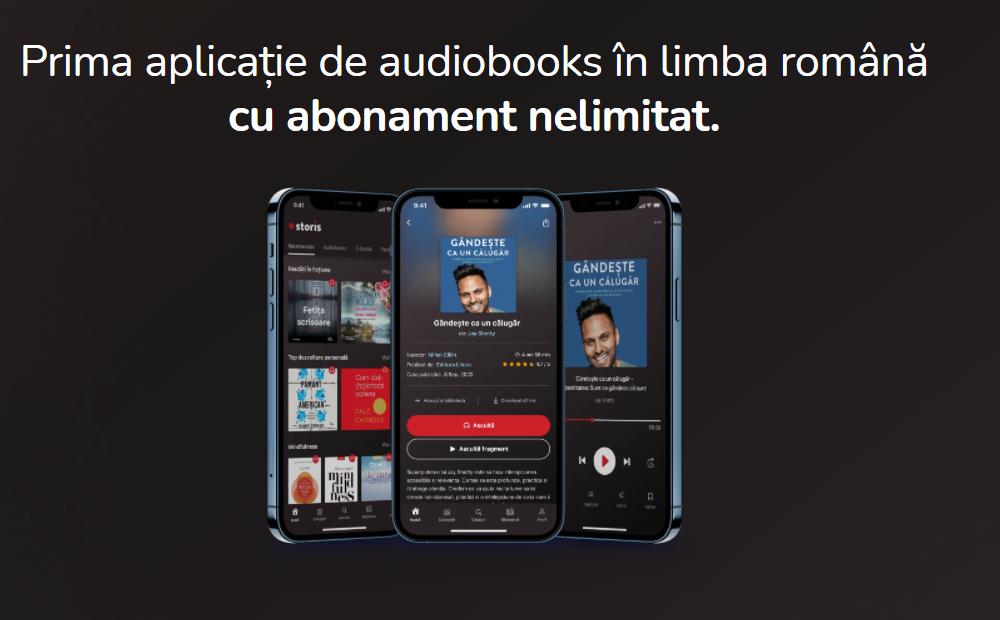 """iLikeIT. În octombrie se lansează Storis, """"un Netflix"""" al cărților în format audio și digital"""
