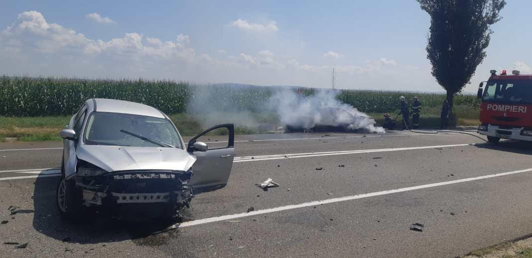 """Un nou accident pe """"șoseaua morții"""". Două persoane au fost transportate la spital"""