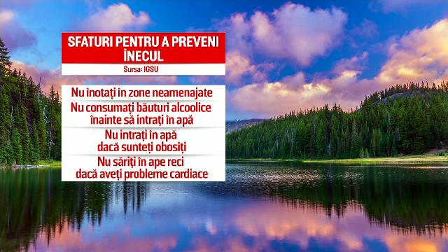 Zeci de oameni s-au înecat în ultimele două luni, în România. Sfaturi pentru a preveni înecul