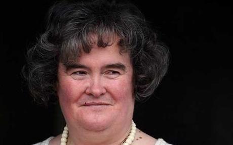 Susan Boyle, santajata cu 50.000 de lire sterline de fratele ei: