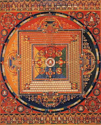 Perfectiune budista! Vezi o incredibila opera de arta din nisip