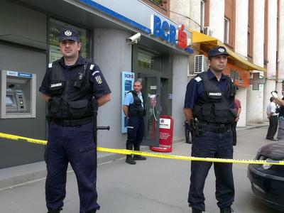 Lovitura sau accident?150.000 de euro au ars in camera de tezaur a unei banci.Ipotezele procurorilor