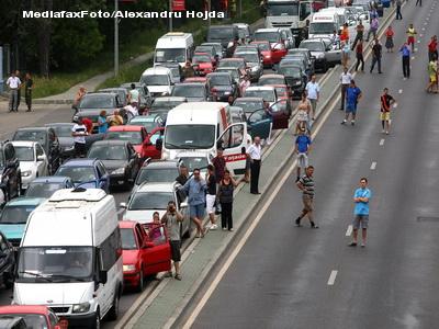 Accident pe DN7, intre Pitesti si Ramnicu-Valcea