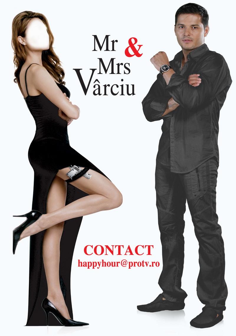 Liviu Varciu o alege pe Mrs. Varciu pe 25 iunie la Happy Hour