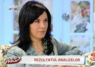 Testul antidrog i-a iesit Marianei Moculescu negativ