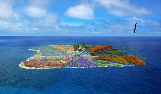"""Insula"" din gunoi, paradisul din Oceanul Pacific"