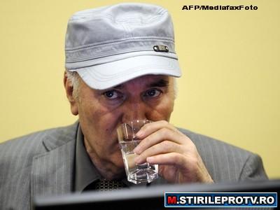 Audiere cu scandal. Ratko Mladici a fost dat afara din sala de judecata
