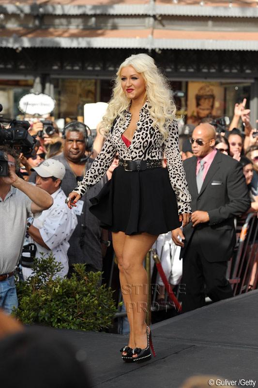 """Razboi in showbiz. Cine o face """"fat bitch""""pe Christina Aguilera?"""