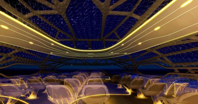 Avionul viitorului, mai ceva ca intr-un SF. Show de senzatii tari,cosmar pentru cei cu frica de zbor