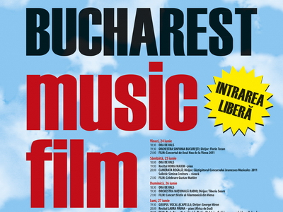 Muzica clasica, film si vals. Incepe Bucharest Music Film Festival: 24 - 2 iulie