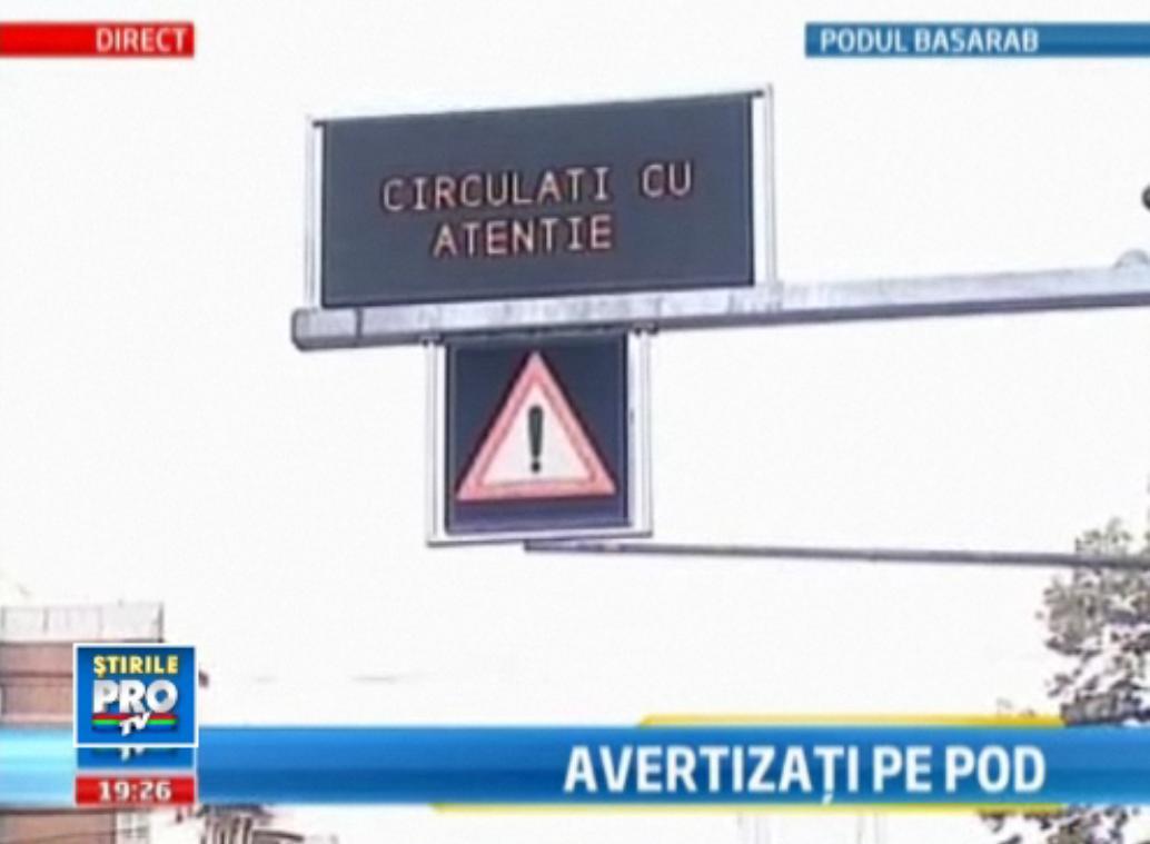 Pasajul Basarab, singurul pod din tara cu sistem de avertizare in caz de cutremur. VIDEO