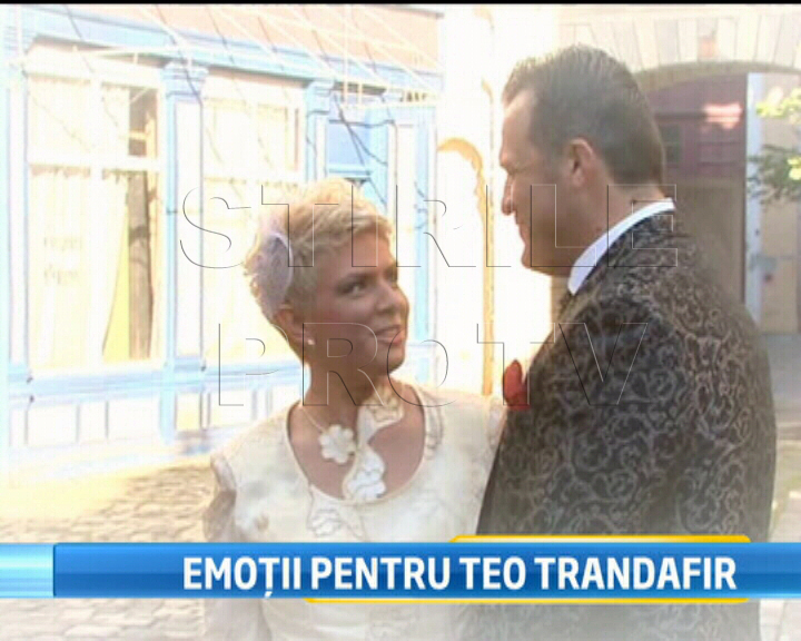 Primele imagini cu Teo in rochie de mireasa.