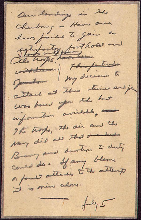 Scrisoarea care anunta sfarsitul lumii asa cum o stim, scoasa la lumina dupa 68 de ani