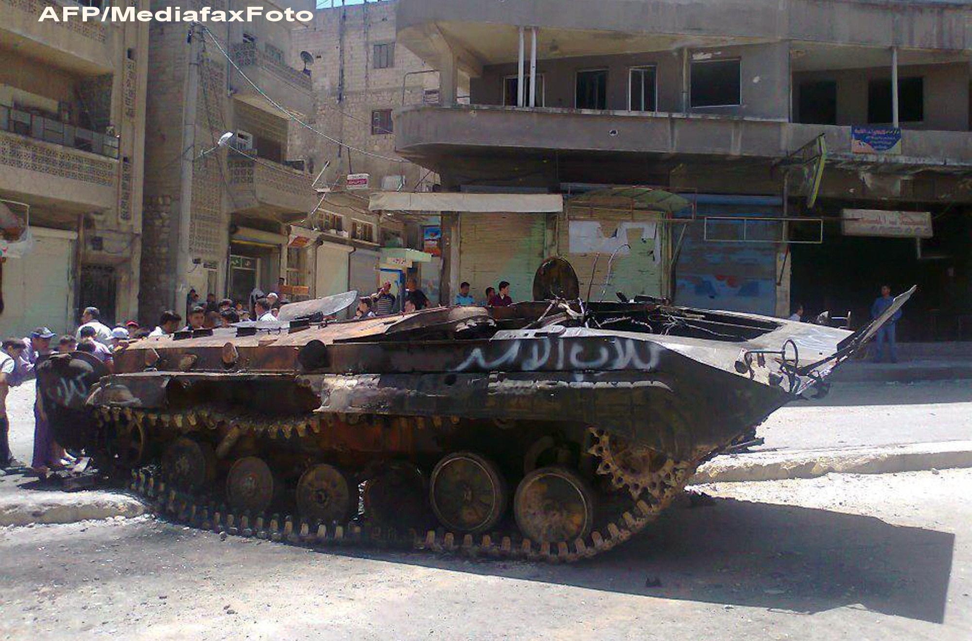 1.260 de persoane au murit in Siria, intr-o saptamana, in confruntarile dintre armata si rebeli