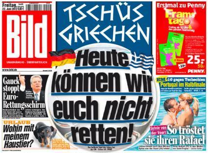 Grecia 2-4 Germania, la Euro 2012. Grecia paraseste