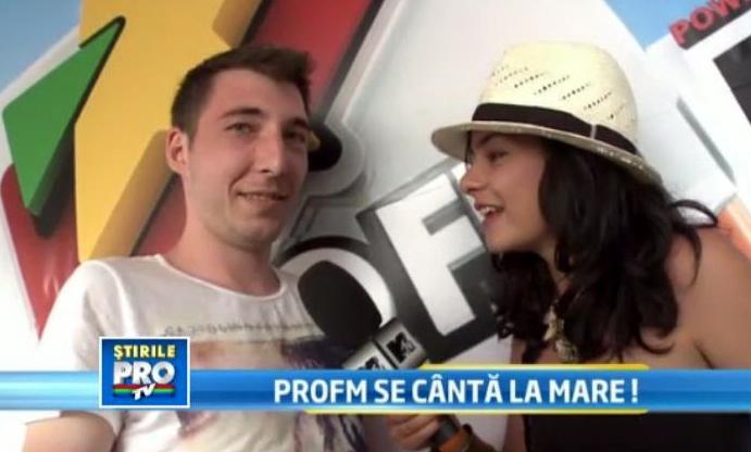 E oficial! Din acest week-end, PRO FM s-a mutat pe faleza, in Mamaia.