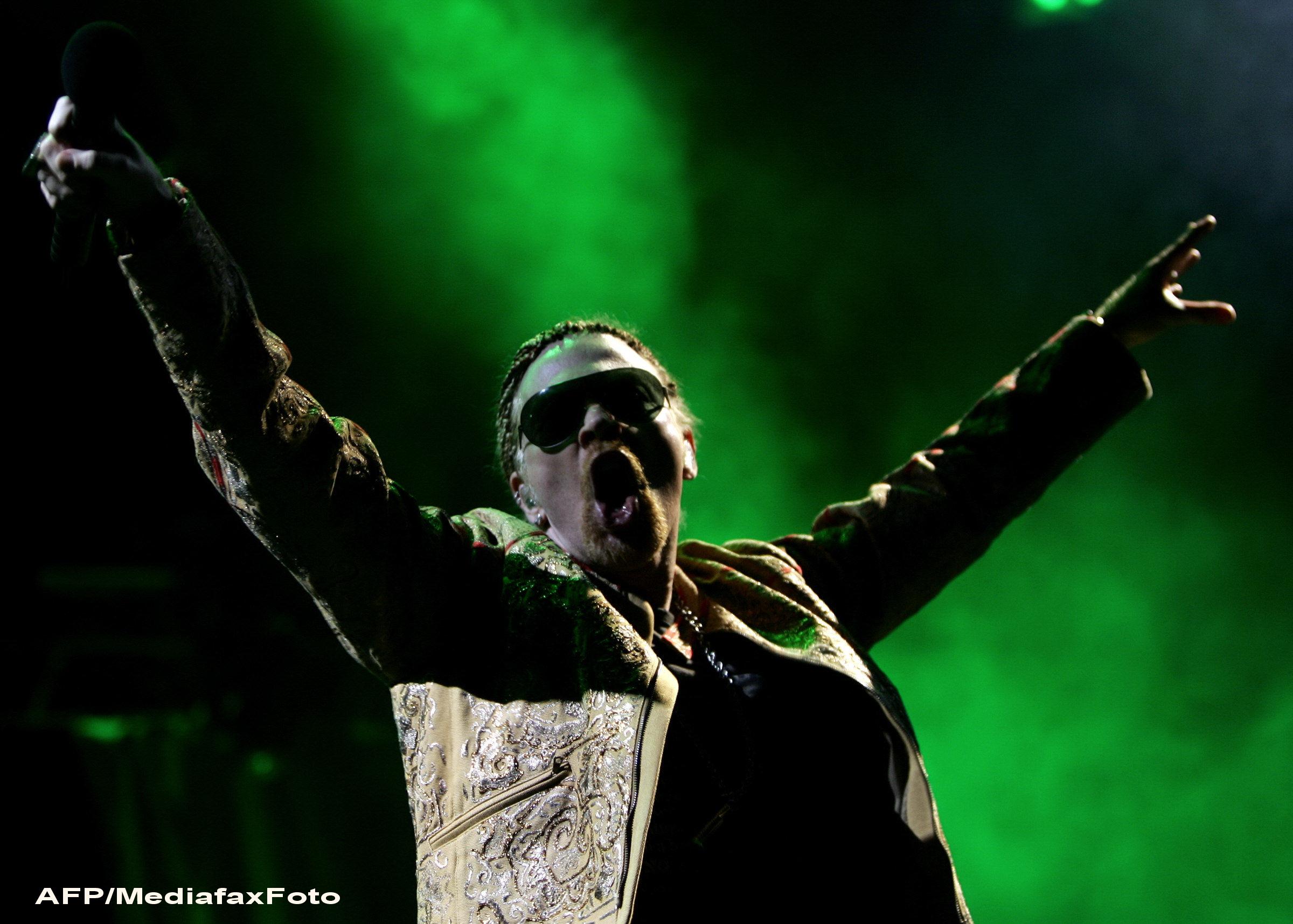 Care sunt pretentiile vedetei Guns N' Roses, Axl Rose, pentru concertul de la Bucuresti