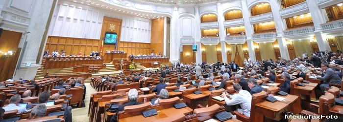 PDL a parasit plenul Camerei Deputatilor in timpul dezbaterilor asupra legii privind atributiile CC