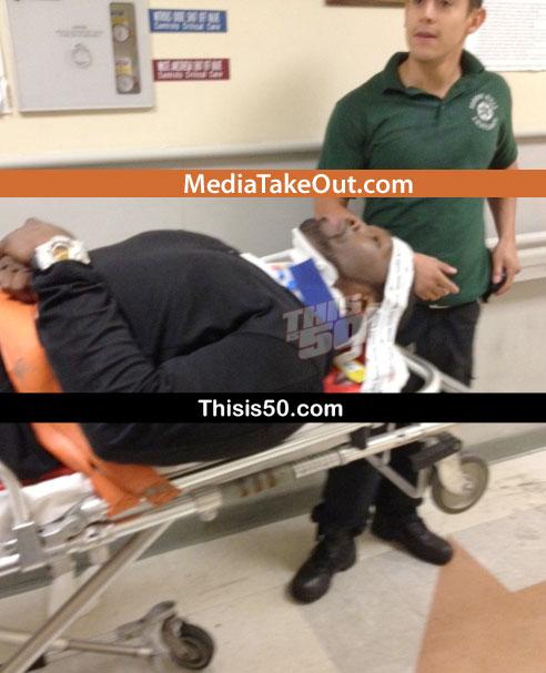50 Cent, implicat intr-un grav accident de circulatie. A fost transportat de urgenta la spital. FOTO