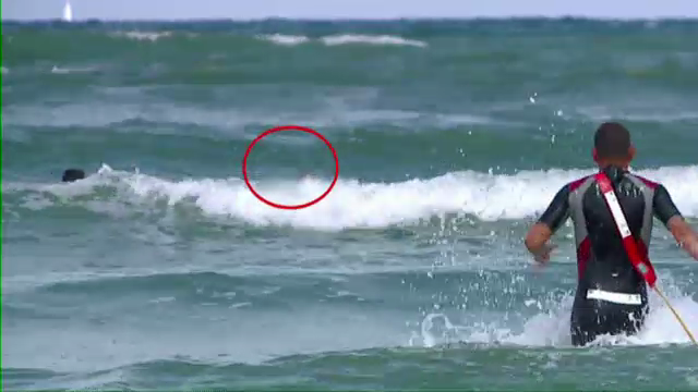 Pericolul unui steag galben ignorat. Vantul si valurile, aproape de a face victime pe litoral