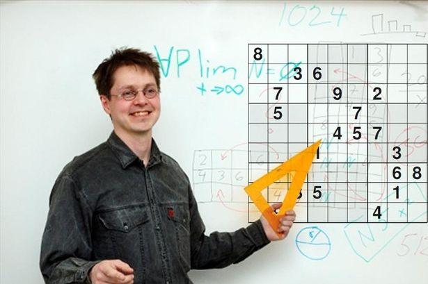 Provocarea saptamanii. Cea mai complicata grila Sudoku din lume: