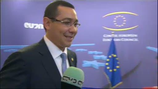 VIDEO. Victor Ponta, confundat de jurnalisti la Consiliul European: