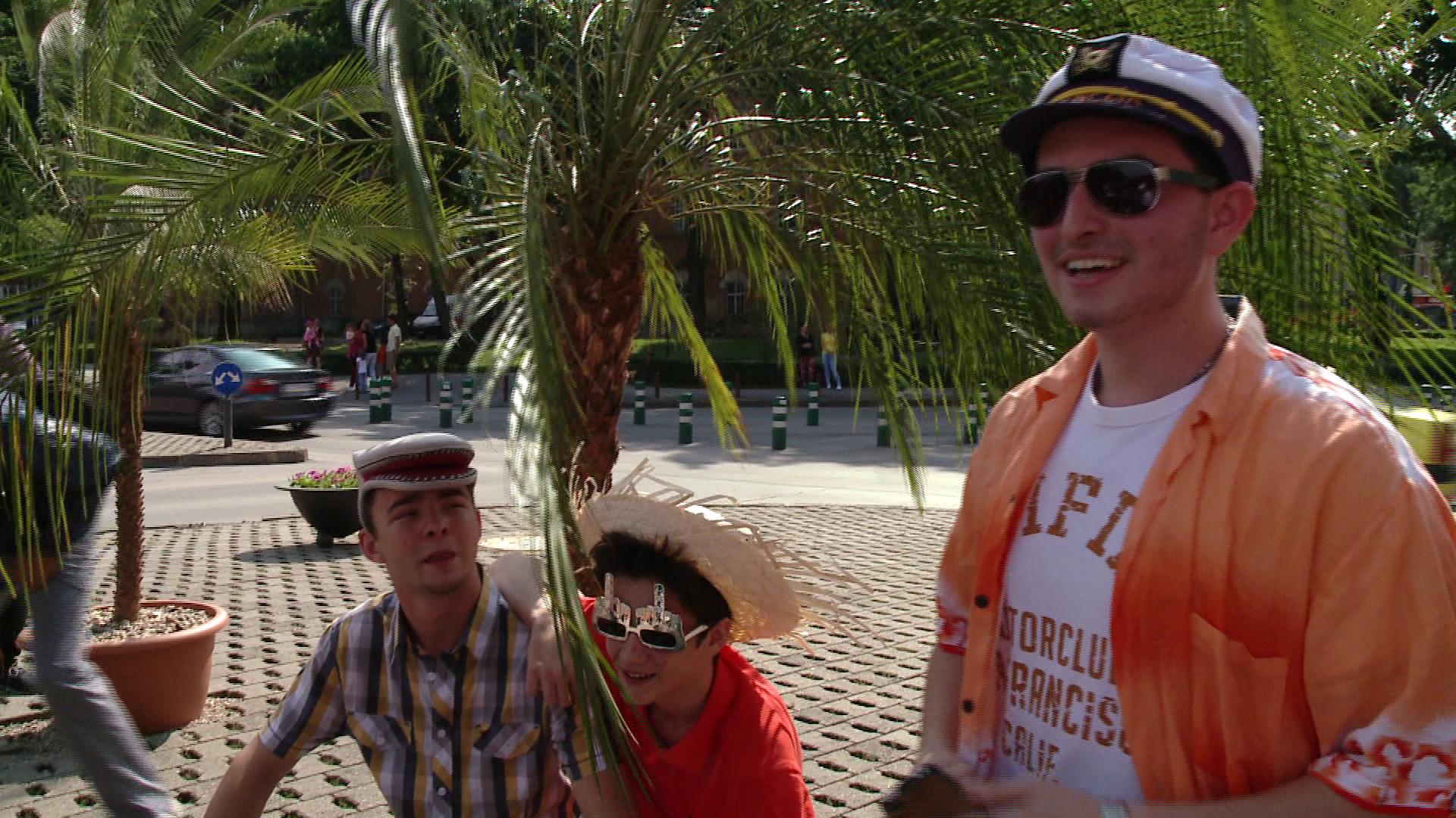 Soare, palmieri, distractie si atmosfera ca pe litoral! Centrul Timisoarei a devenit