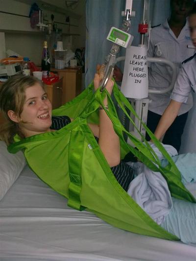Credea ca va ramane paralizata, dar un incident banal i-a schimbat radical viata.