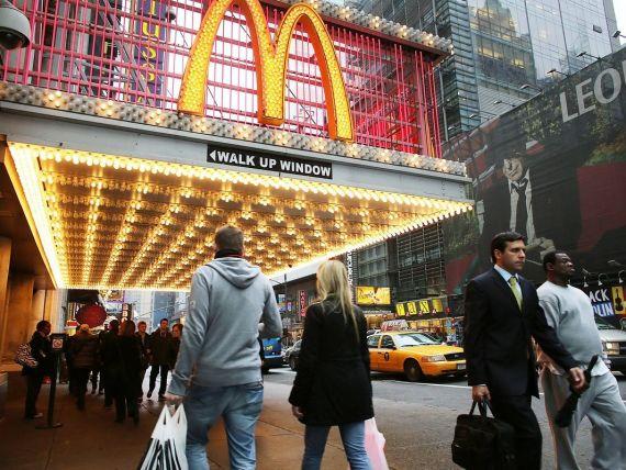 Profit si vanzari sub estimari la McDonald's, pe fondul recesiunii din Europa si somajului din SUA