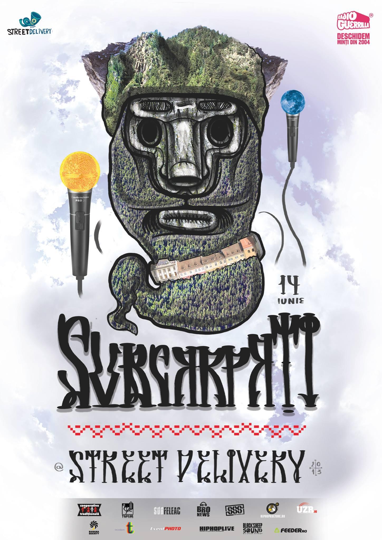 Primul concert Subcarpati din acest an de la Bucuresti: Street Delivery, 14 iunie