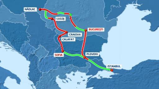 Rolul podului de la Calafat pe HARTA transporturilor europene. Drumul pana la Craiova, plin de gropi
