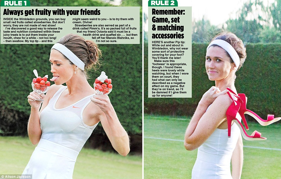 Pippa Middleton, indrazneata intr-un pictorial. Detaliul inestetic observat de critici. FOTO