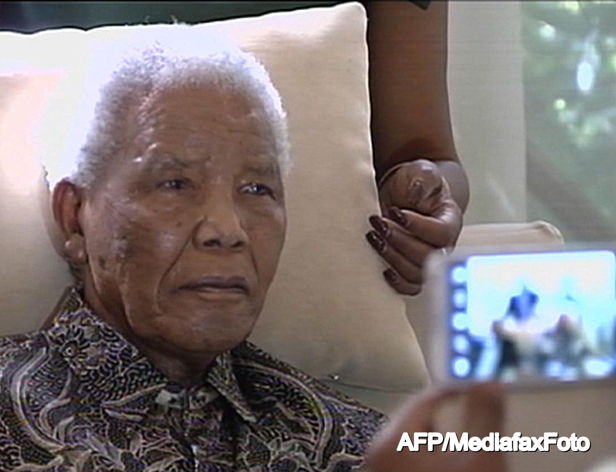 Nelson Mandela a fost externat, dar George Bush a crezut ca a murit.