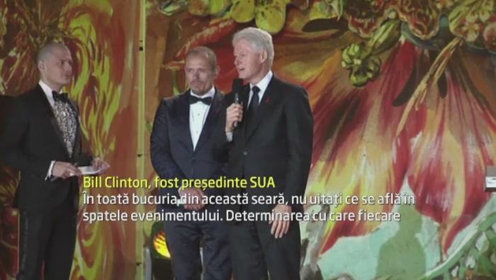 Eveniment caritabil in Viena. Bill Clinton sau Conchita Wurst au participat la o strangere de fonduri in lupta cu SIDA