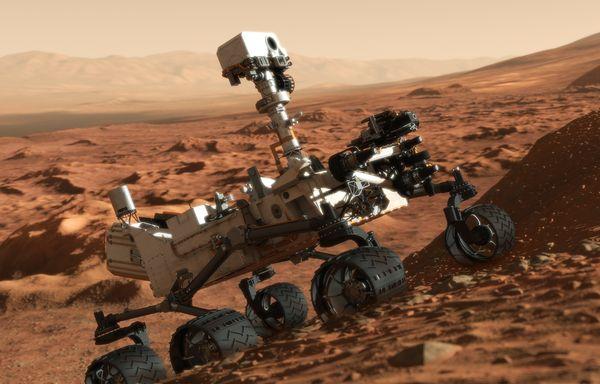 Roverul Curiosity a ajuns la destinatia finala. Traseul pe care l-a avut de parcurs pe Planeta Rosie. FOTO
